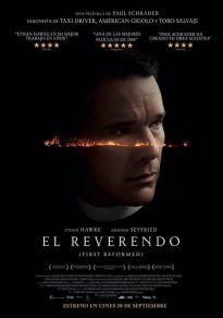 Cartel de la película El reverendo. First reformed