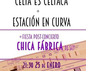 Rueda + Celia es Celíaca + Estación en Curva