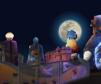 Gaudi's Pedrera: The Origins-background