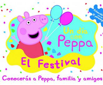 Un Día con Peppa, El Festival-background
