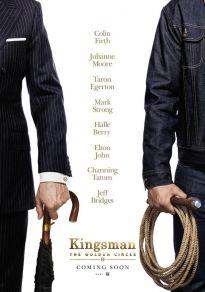 Cartel de la película Kingsman: El círculo de oro