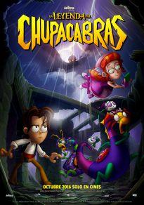 Cartel de la película La leyenda del Chupacabras