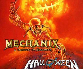 MECHANIX + HALLOWEEN, rinden homenaje a Megadeth y Helloween!