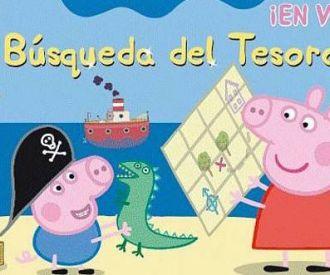 Entradas peppa pig la b squeda del tesoro for Espectaculo peppa pig uruguay