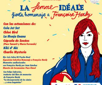 La Femme Idéale. Fiesta Homenaje a Françoise Hardy-background