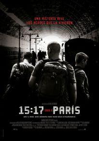 Cartel de la película 15.17 Tren a París