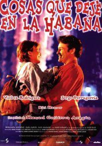 Cartel de la película Cosas que dejé en La Habana