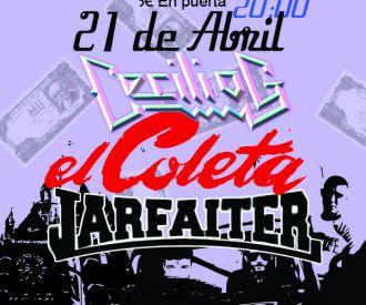 Cecilio G + El Coleta + Jarfaiter