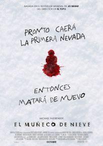 Cartel de la película El muñeco de nieve