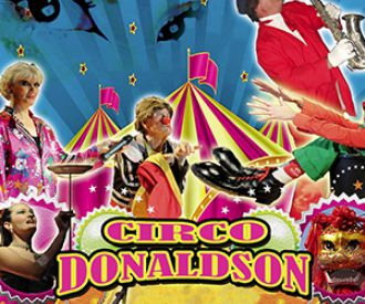 Circo Donaldson -background