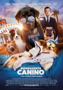 Cartel de la película Superagente canino