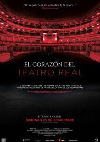 Cartel de la película El Corazón del Teatro Real