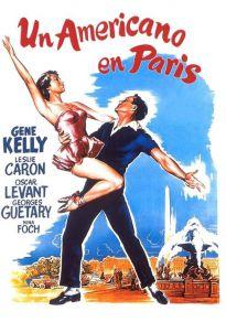 Cartel de la película Un americano en París.