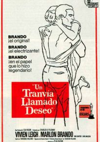 Cartel de la película Un tranvía llamado Deseo