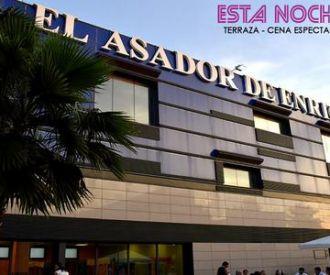 Cena + Espectáculo en Terraza Hotel El Asador de Enrique