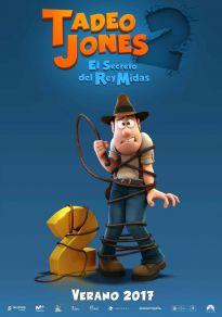 Cartel de la película Tadeo Jones 2. El secreto del rey Midas