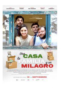 Cartel de la película Una casa, la familia y un milagro