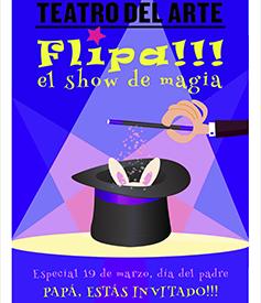 FLIPA, show de magia familiar.