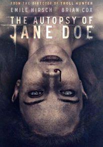 Cartel de la película La autopsia de Jane Doe