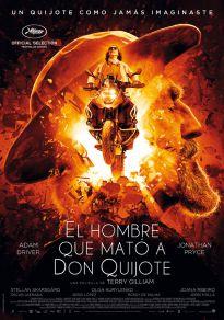 Cartel de la película El hombre que mató a Don Quijote