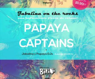 Fiesta Jabalina de verano con PAPAYA y CAPTAINS