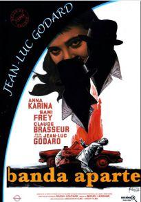 Cartel de la película Banda Aparte