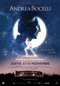 Cartel de la película Andrea Bocelli - A Legend of Beauty