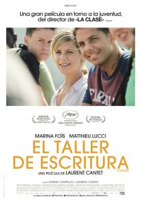 Cartel de la película El taller de escritura