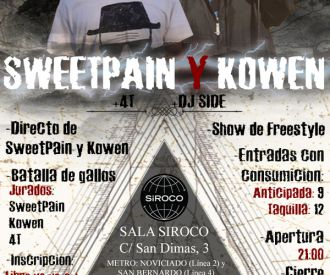 SweetPain y Kowen-background
